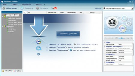 Any Video Converter Free 6.0.6 rus